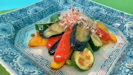 夏野菜の揚げびたし 〈夏の旬レシピ〉